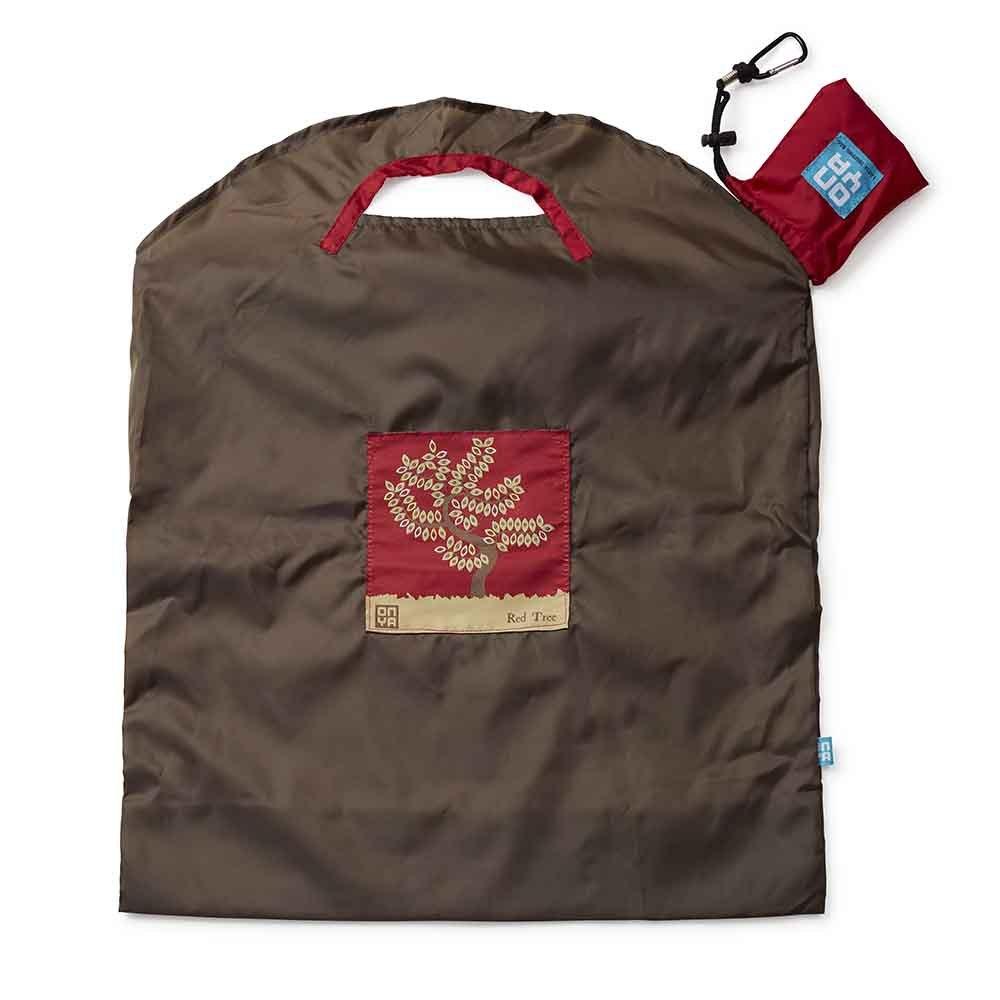 Onya Shopping Bag Large - Olive Red Tree