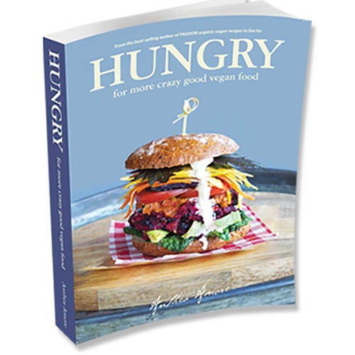 Hungry Vegan Recipe Book - Hard Cover (Print)