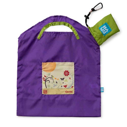 Onya Shopping Bag Small - Purple Garden