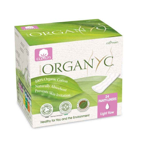 Organyc Ultra Thin Panty Liners - light (24)