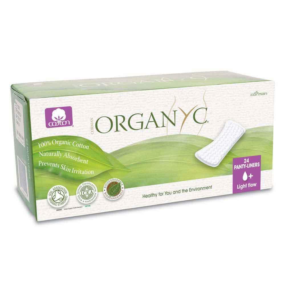 Organyc Panty Liners (Flat) - Light (24)
