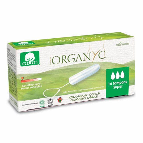 Organyc Tampons - Super (16)