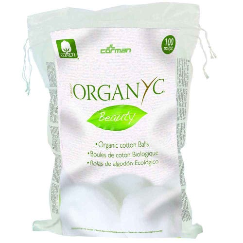 Organyc Beauty Cotton Balls (100)