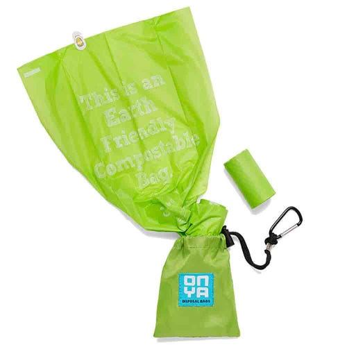 Onya Dog Waste Bags & Pouch - Apple