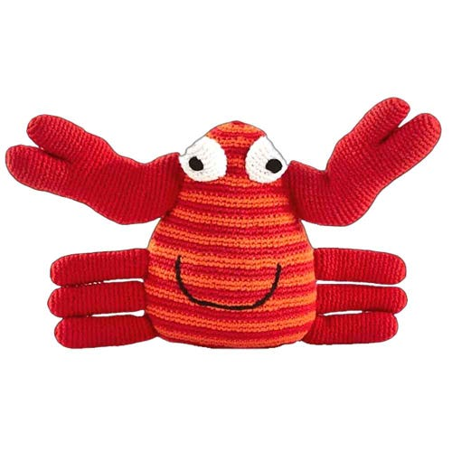 Pebble Ethical Toys - Crab with Rattle