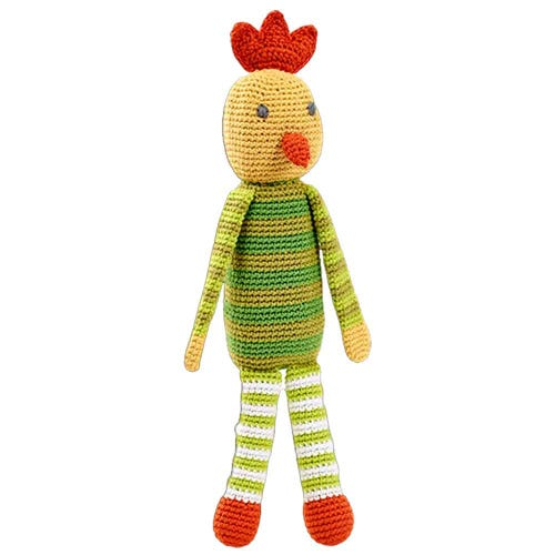 Pebble Ethical Toys - Chicken with Rattle
