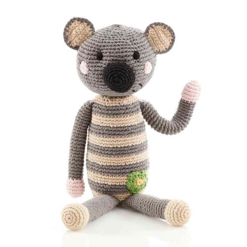 Pebble Ethical Toys  - Koala with Rattle