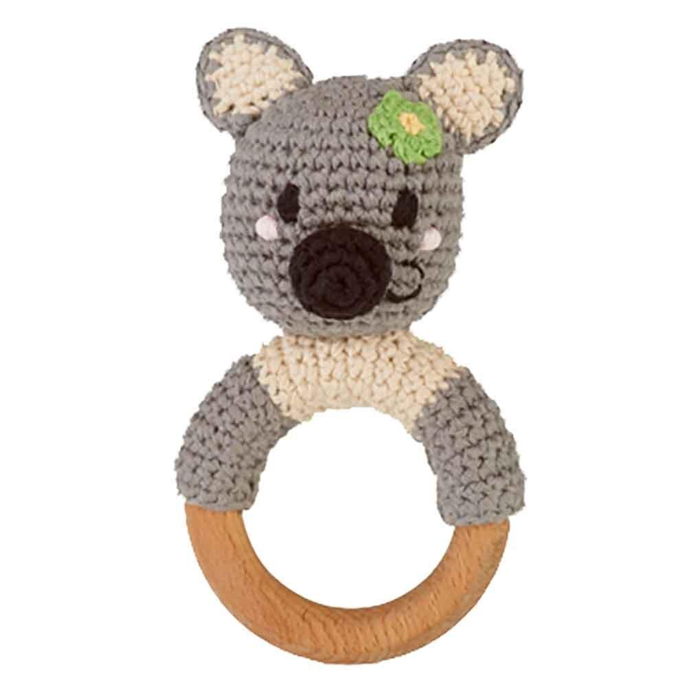 Pebble Ethical Toys  - Wooden Rattle Koala