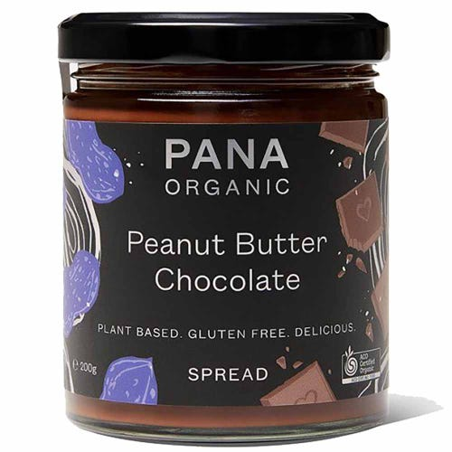 Pana Peanut Butter & Chocolate Spread (200g)