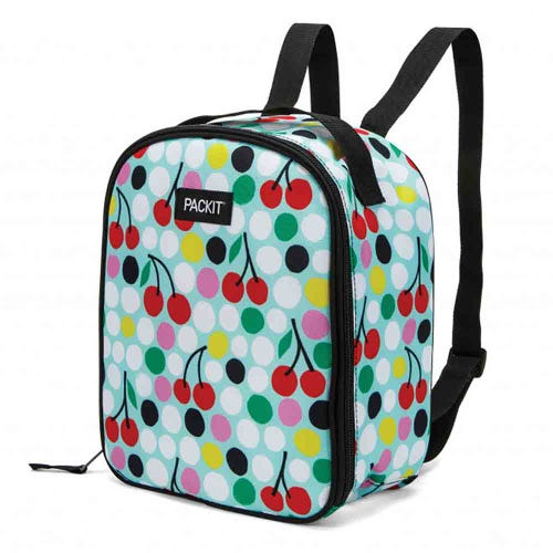 PackIt Freezable Kids Backpack - Cherry Dots