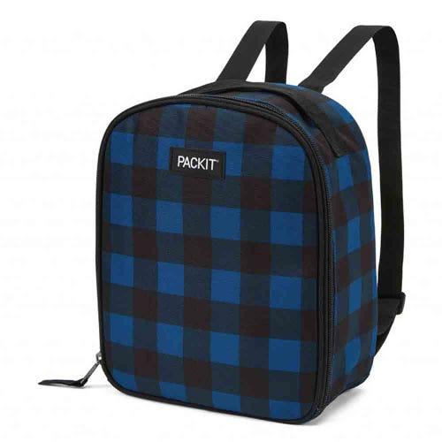 PackIt Freezable Kids Backpack - Navy Buffalo