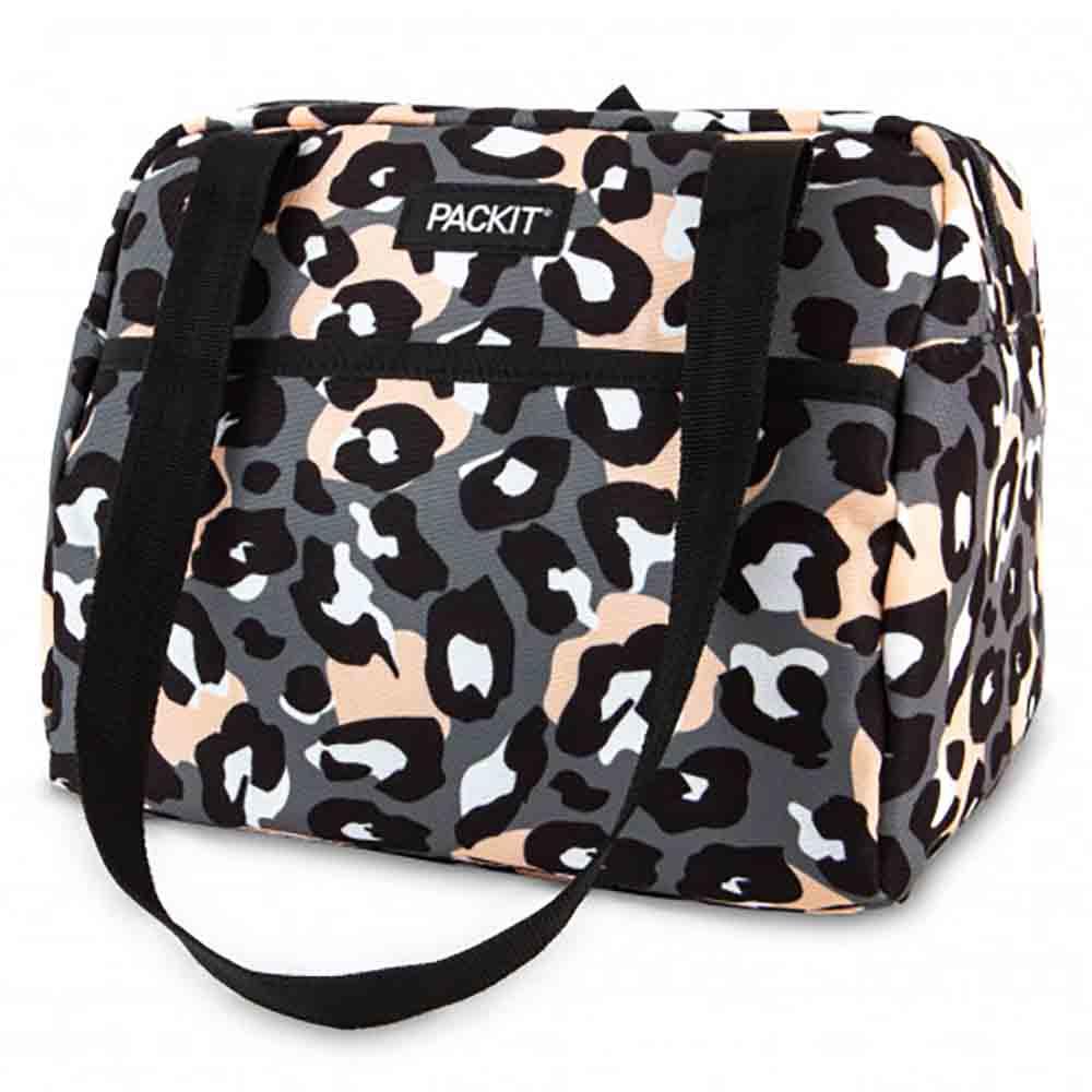 PackIt Freezable Hampton Lunch Bag - Wild Leopard