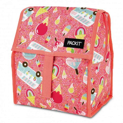 PackIt Freezable Lunch Bag - Ice Cream