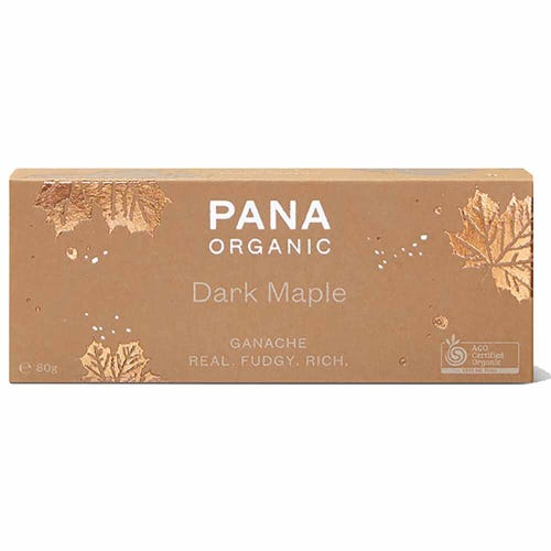Pana Organic Dark Maple Ganache (80g)