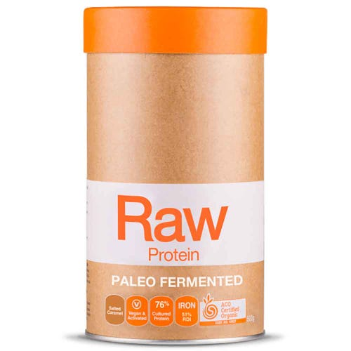 Raw Paleo Fermented Protein - Salted Caramel (500g)