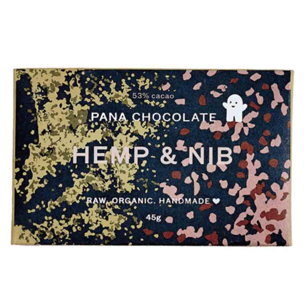 Pana Chocolate Hemp & Nib (45g)
