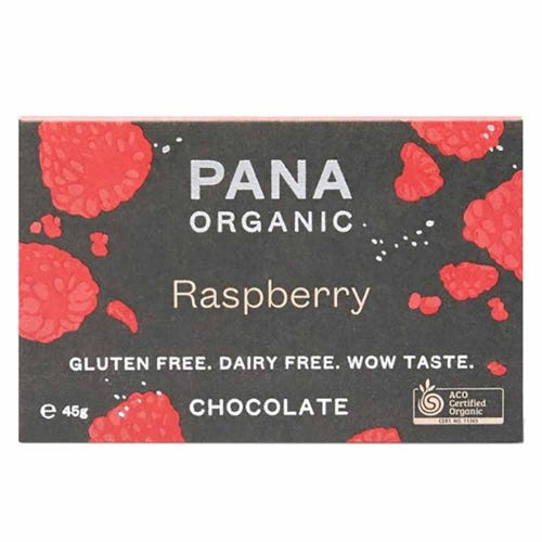 Pana Chocolate Raspberry (45g)