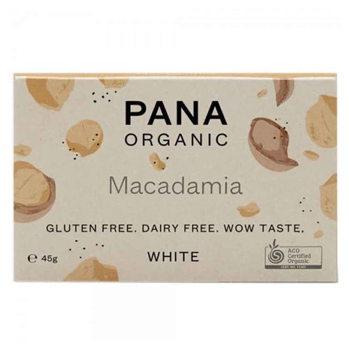 Pana Chocolate White Macadamia (45g)