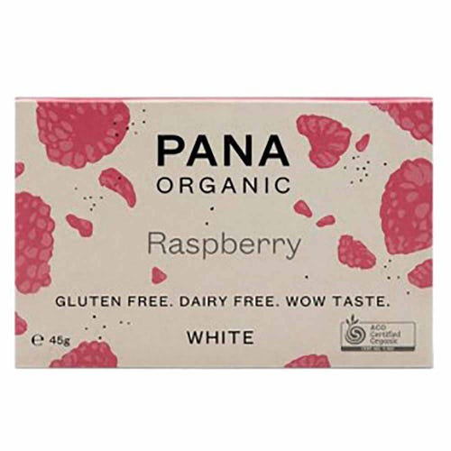 Pana Chocolate White Raspberry (45g)