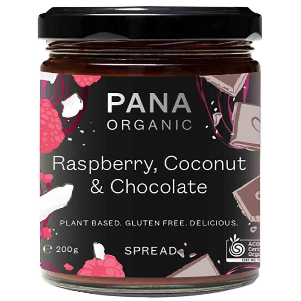 Pana Rasberry Coconut Chocolate 200g
