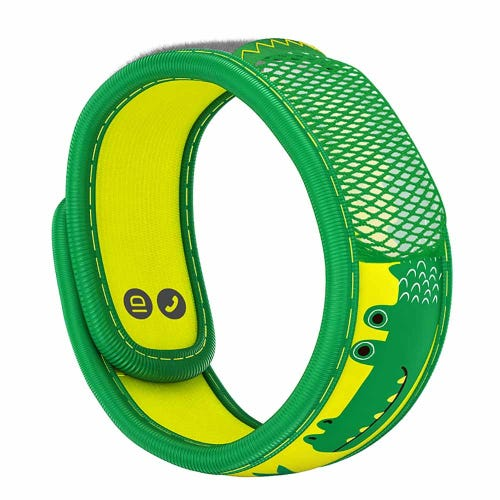 Parakito Mosquito Protect Kids Wristband - Crocodile