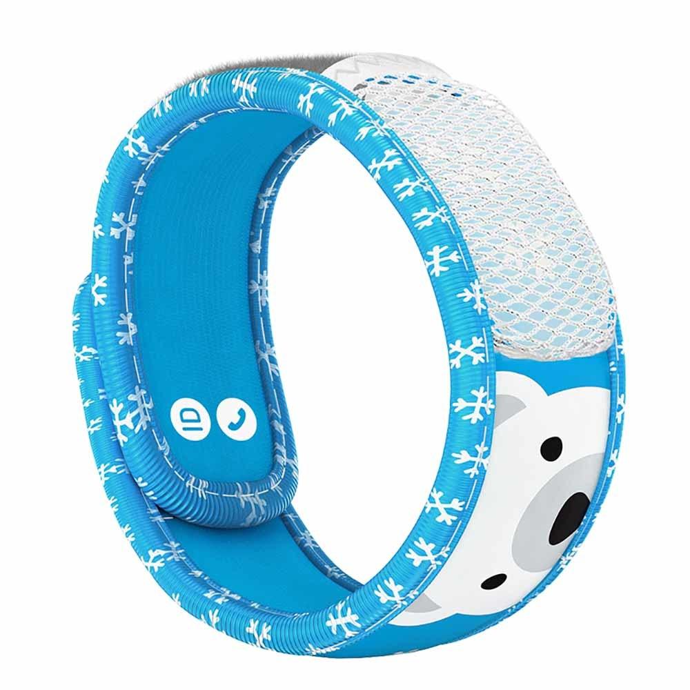 Parakito Mosquito Protect Kids Wristband - Polar Bear