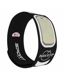 Parakito Mosquito Protect Sports Wristband - Black
