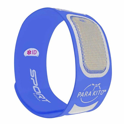 Parakito Mosquito Protect Sports Wristband - Blue