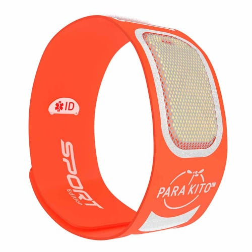Parakito Mosquito Protect Sports Wristband - Orange