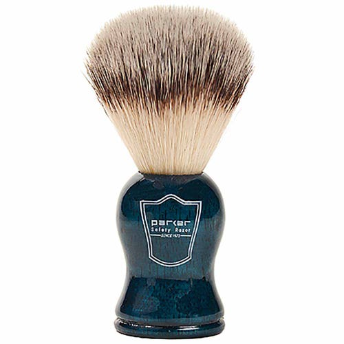 Parker Vegan Shaving Brush - Blue