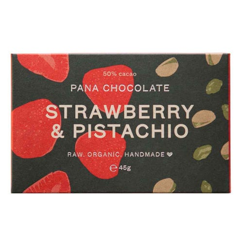 Pana Chocolate Strawberry & Pistachio (45g)
