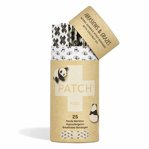 Patch Bamboo Strip Bandages - Kids  25 Pack