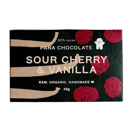 Pana Chocolate Sour Cherry & Vanilla (45g)