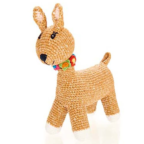 Pebble Ethical Toys - Deer with Rattle