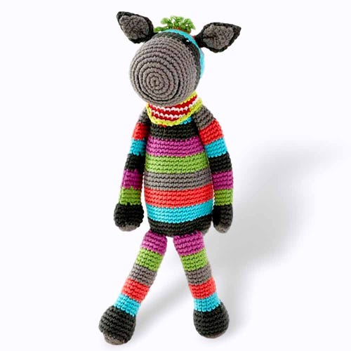 Pebble Ethical Toys  - Donkey with Rattle