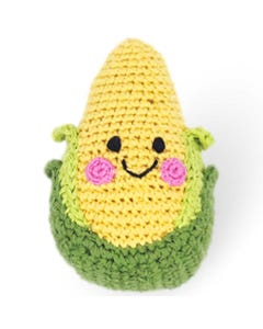 Pebble Ethical Toys - Sweet Corn Rattle | Flora & Fauna Australia