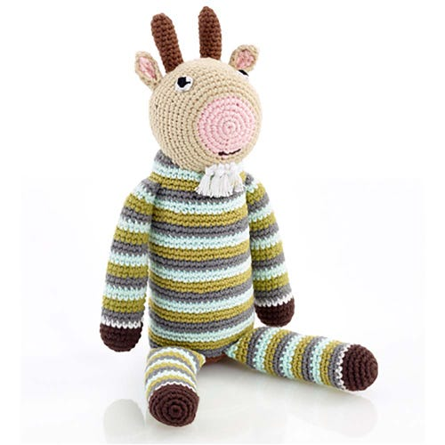 Pebble Ethical Toys - Goat with Rattle
