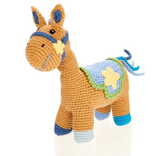 Pebble Ethical Toys - Horse with Rattle