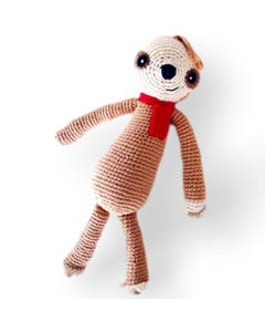 Pebble Ethical Toys - Sloth with Rattle