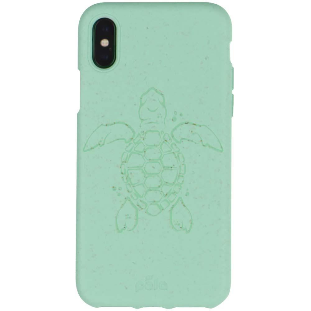 Pela Phone Case iPhone XS - Turquoise Turtle Edition