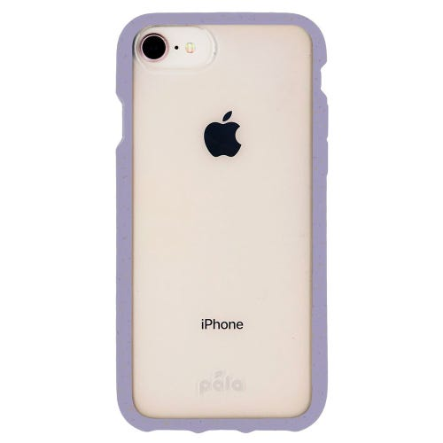 Pela Lavender Compostable Clear Phone Case