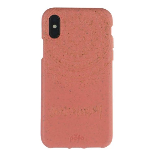 Pela Phone Case iPhone XS - Coral Mandala Edition