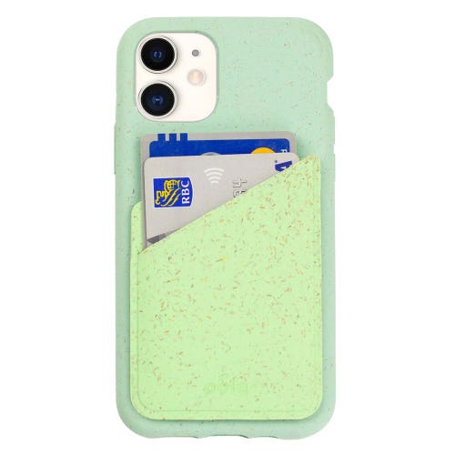 Pela Phone Case Card Holder - Neo Mint