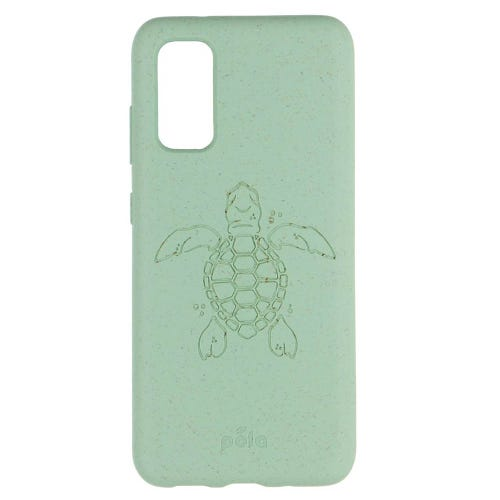 Pela Phone Case Samsung Galaxy S20 - Ocean Turquoise Turtle Edition