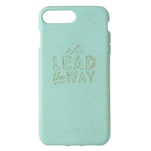 Pela Phone Case iPhone 6+/6s+/7+/8+ - Ocean Turquoise Lead The Way Edition