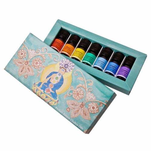 Perfect Potion Chakra Essential Oil Kit