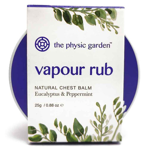 The Physic Garden Vapour Rub Mini (25g)