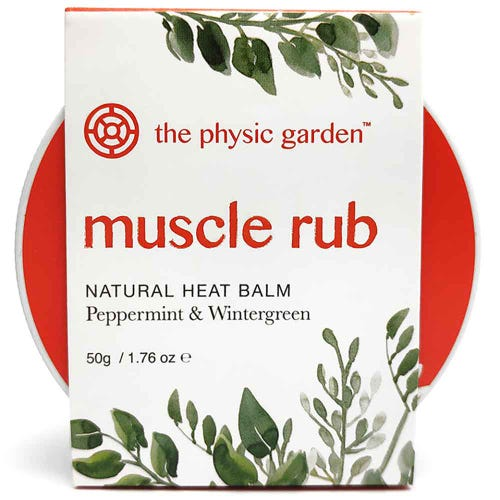 The Physic Garden Muscle Rub (50g)