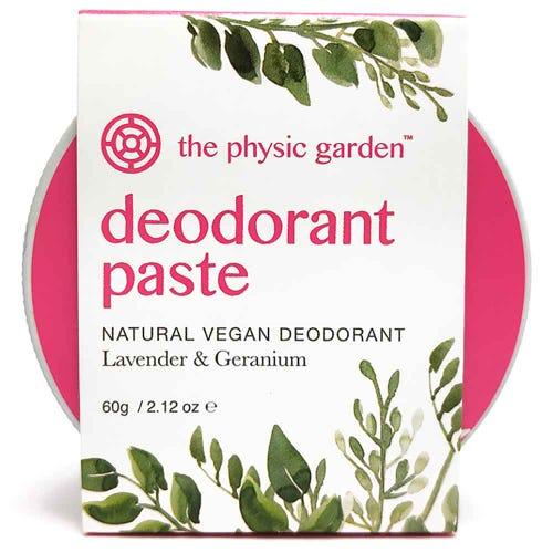 The Physic Garden Lavender & Geranium Deodorant (60g)