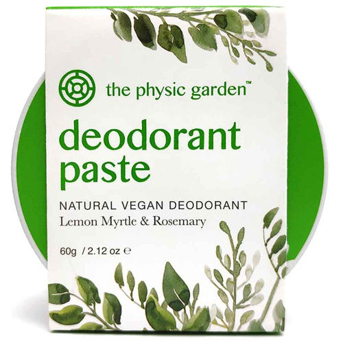 The Physic Garden Lemon Myrtle Deodorant (60g)